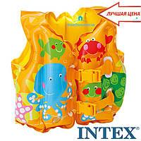 """Надувной жилет """"Веселые рыбки"""" Intex 59661"""