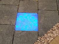 LED-камень Классик молоко 100, RGB (Управление цветом освещения), 97х97х55