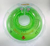 Круг для купания малышей 6-36 кг (Салатовый), BabySwimmer