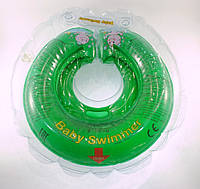 Круг для купания малышей 6-36 кг (Зеленый), BabySwimmer