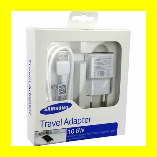 Зарядное устройство Адаптер Samsung Fast Charger 2A (Travel Adapter)!Акция
