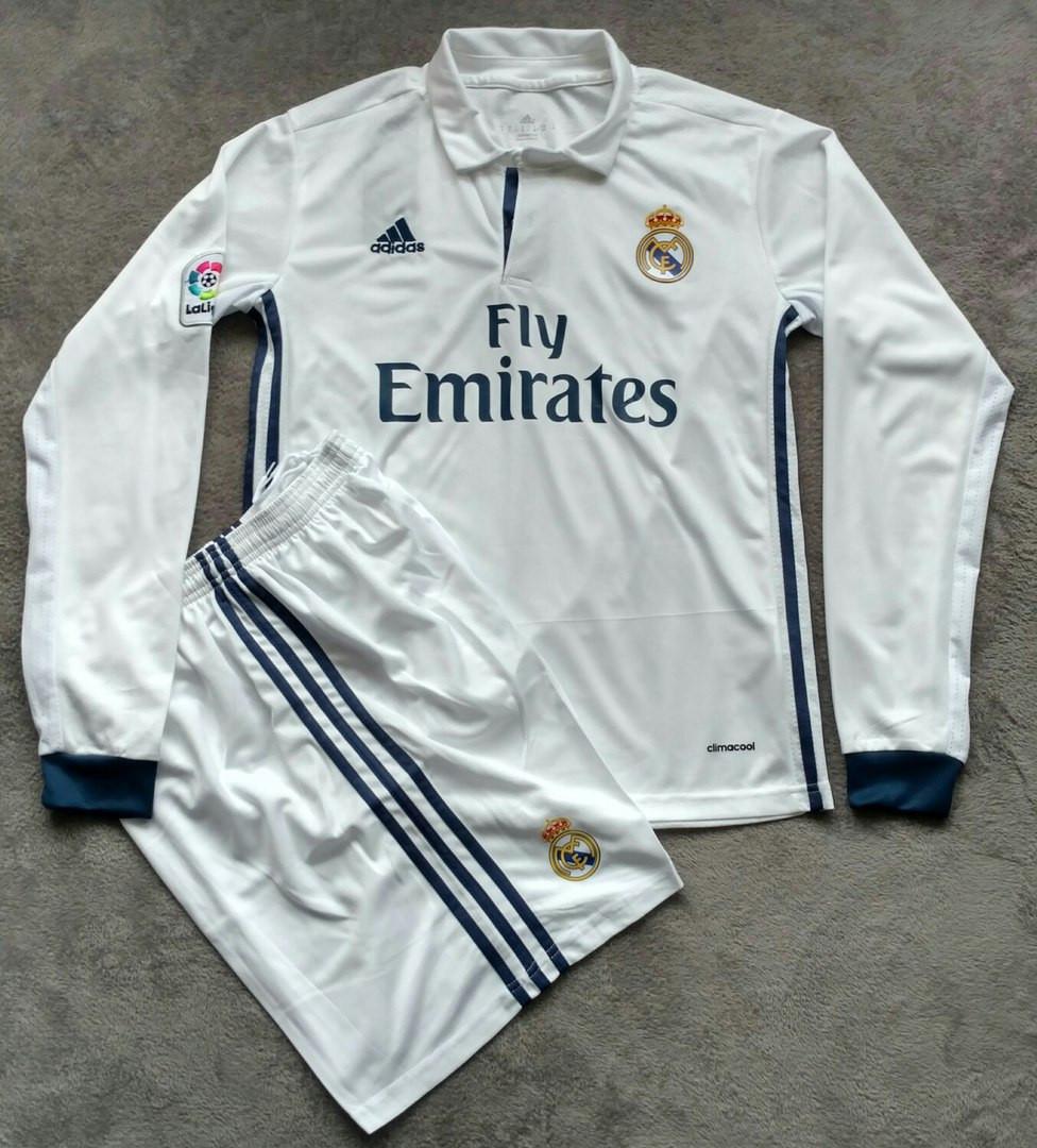 Футбольная форма Реал Мадрид 2016-2017 белая