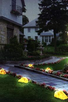 LED-камень Скала RGB (Управление цветом освещения), 120х100х80
