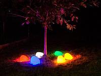 LED-камень Капля, RGB (Управление цветом освещения), 140х100х80