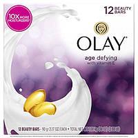 Olay Moisture Outlast Увлажняющее мыло антивозрастное 12 шт. по 90 г (США)