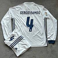 Футбольная форма Реал Мадрид Серхио Рамос 2016-2017 белая