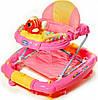 Детские ходунки с качалкой Tilly Pink T-444
