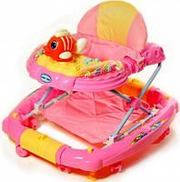 Детские ходунки с качалкой Tilly Pink T-444, фото 1