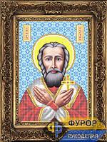 Схема иконы для вышивки бисером - Руслан (Рустик) Святой Мученик, Арт. ИБ4-140-1