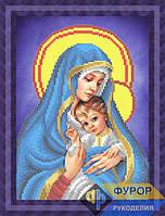 Схема для вышивки бисером - Мадонна с младенцем, Арт. ЛБч4-20