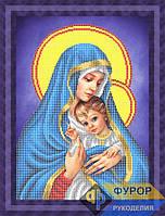 Схема для вышивки бисером - Мадонна с младенцем, Арт. ЛБч3-61