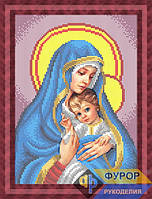 Схема для вышивки бисером - Мадонна с младенцем, Арт. ЛБч4-19