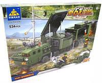 Конструктор Kazi Field Army Военная машина KY84038, фото 1