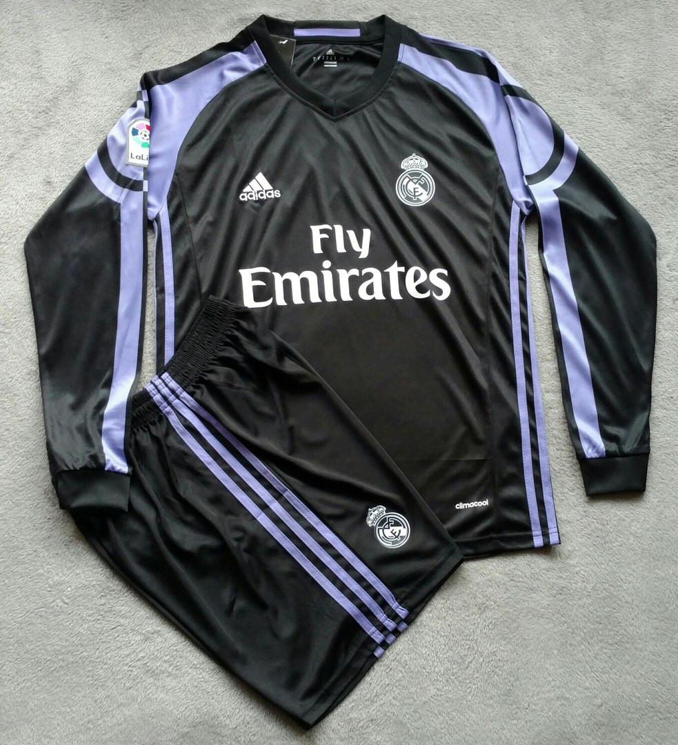 Футбольная форма Реал Мадрид 2016-2017 черная