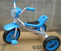 Трехколесный детский велосипед  1712 синий***