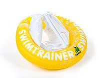 Надувной круг для плавания Swimtrainer (Желтый), Freds Swim Academy