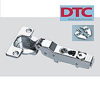 Петля DTC clip-on. Полунакладная с доводчиком (без регулировки).