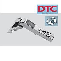 Петля DTC clip-on. Угловая петля 45* с доводчиком (без регулировки).