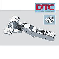Петля DTC clip-on. Полунакладная с доводчиком (с регулировкой).