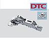 Петля DTC clip-on. Угловая 165* (краб) с доводчиком (с регулировкой).