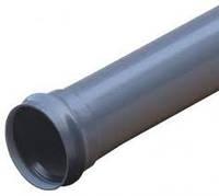 Труба ПВХ 110x2.6x2000 внутреняя канализация Wavin