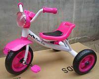 Трехколесный детский велосипед  1712 розовый***