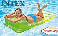"Пляжный матрас ""Мода"" Intex 58890 188х71"