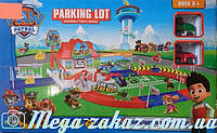 Гараж паркинг Щенячий Патруль/Paw Petrol 6699: 2 машинки + дорожные знаки