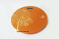 Весы напольные цветные стеклянные (круглые) на 150 кг