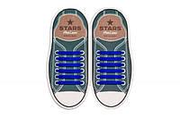 Прямые силиконовые антишнурки для кроссовок и кед AntiLaces 53 мм , фото 1