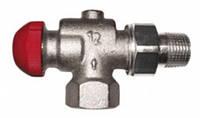 Термостатический клапан HERZ-TS-90-V со скрытым предварительной настройкой, угловой специальный, 1/2