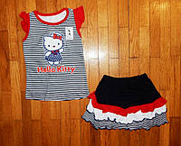 Детский летний костюм для девочки Китти 92/98 рр