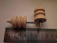 Сликер. Полировщик для уреза кожи деревянный.