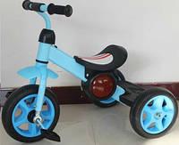 Трехколесный детский велосипед  1713 синий***