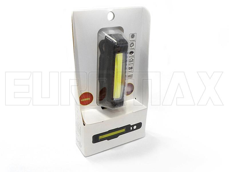 Фонарь велосипедный USB красный/белый C14-038-RW
