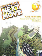Macmillan Next Move 1 Class Audio CDs. British Edition (Проект №3)