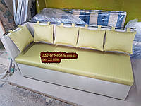 Диван для вузької кімнати з ящиком + спальним місцем 1800х500х870мм, фото 1