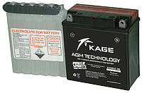 Аккумулятор кислотный 5Ah 65A KAGE KGM5Z-3B