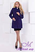 Женское демисезонное пальто (р. S, M, L) арт. Мелини букле 10117
