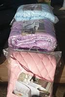 Одеяло  цветное полуторное
