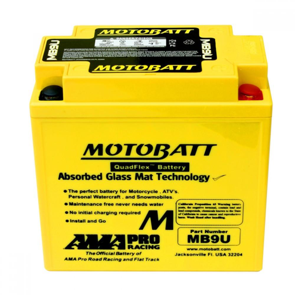 Аккумулятор Motobatt MB9U