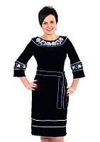 """Плаття «Чарівність"""" у чорному кольорі"""