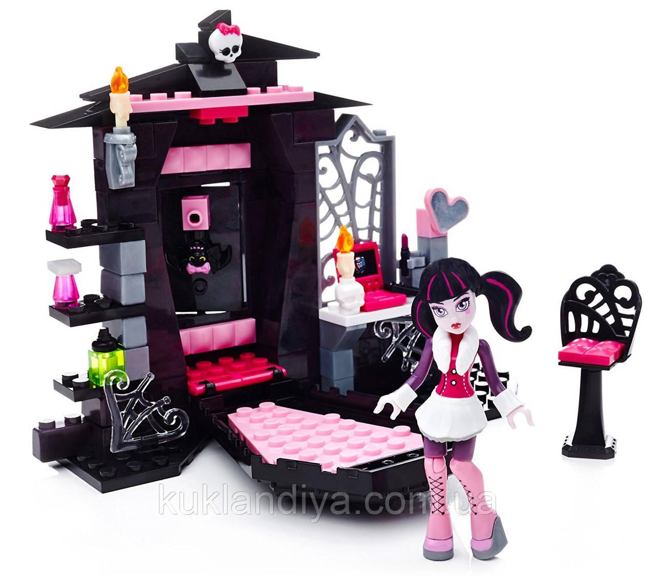 Конструктор Mega Bloks Monster High комната Дракулауры
