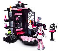 Конструктор Mega Bloks Monster High комната Дракулауры, фото 1
