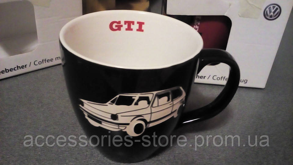 Фарфоровая кружка Volkswagen GTI One Mug Black