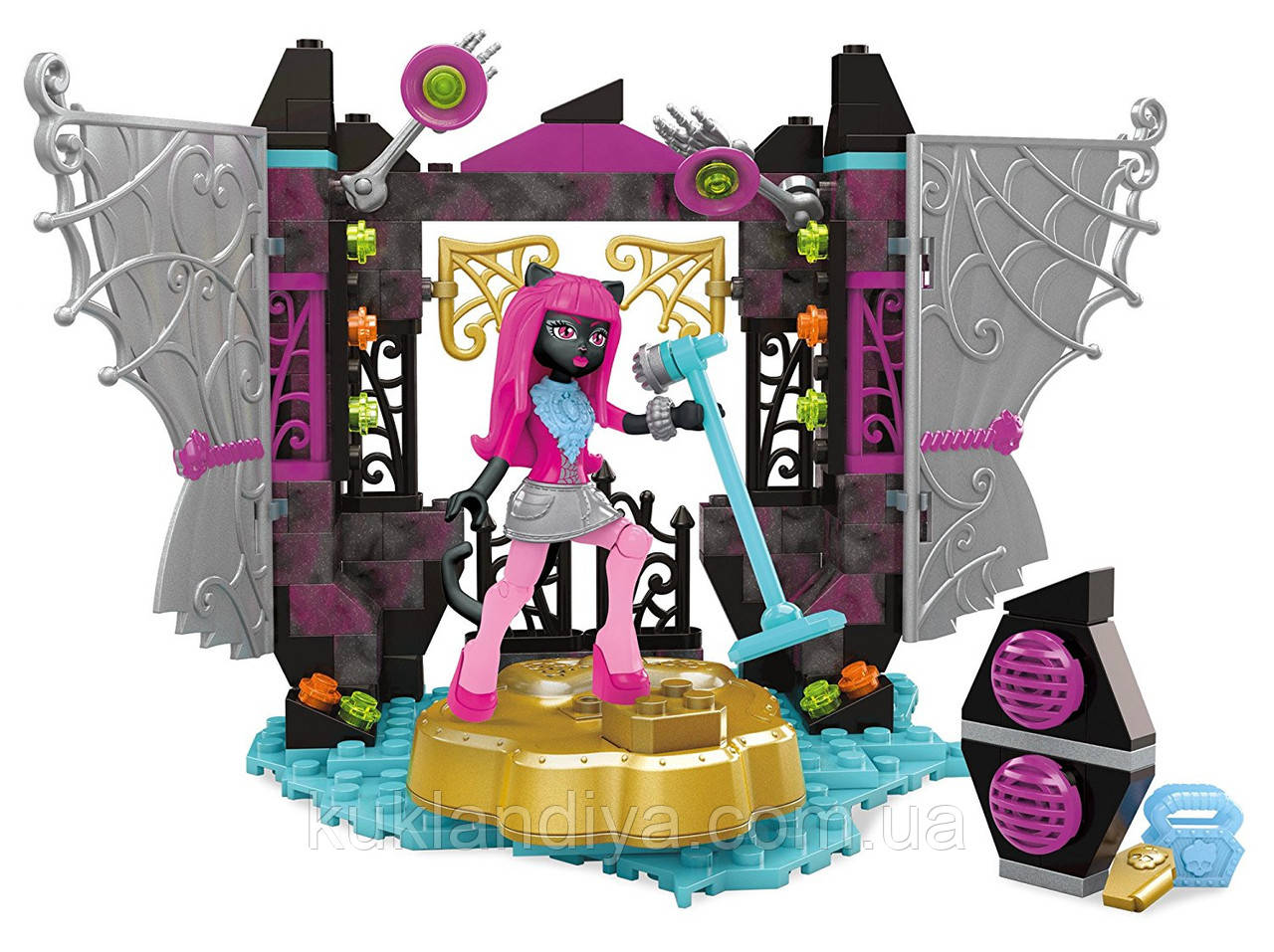 Конструктор Mega Bloks Monster High сцена Кэтти Нуар