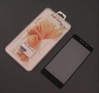 Стекло защитное 3D для Xiaomi Redmi 4 4prime черныя рамка