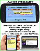 Сервис для мгновенного контроля качества товаров и услуг sms-сообщениями от покупателей