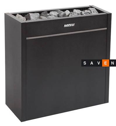 Електрична піч (кам'янка) Harvia Virta Pro HL135 чорна для сауни і лазні, фото 2