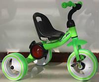 Трехколесный детский музыкальный  велосипед  1714 салатовый***
